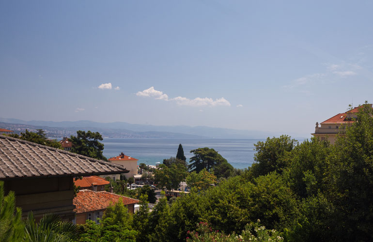 apartments green garden opatija
